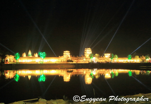 Angkor Wat At Night (8973)